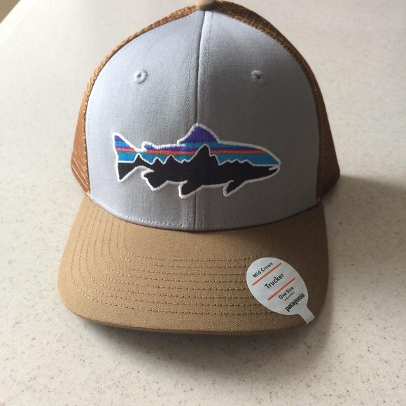 da5a5c841184d Patagonia Fitz Roy Trout Trucker Hat New